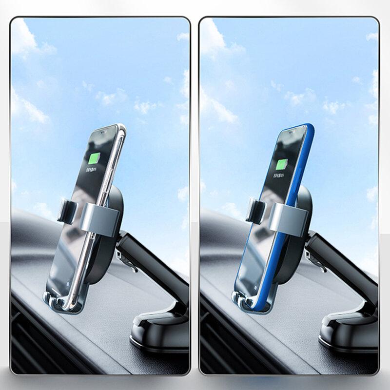 Suport telefon auto bord JoyRoom, incarcator wireless, negru, JR-ZS212