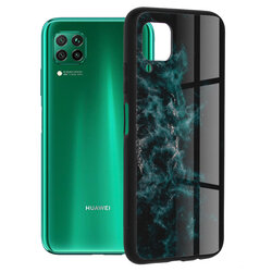 Husa Huawei P40 Lite Techsuit Glaze, Blue Nebula