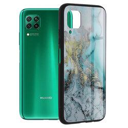 Husa Huawei P40 Lite Techsuit Glaze, Blue Ocean