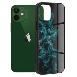 Husa iPhone 12 Techsuit Glaze, Blue Nebula