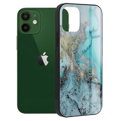 Husa iPhone 12 Techsuit Glaze, Blue Ocean