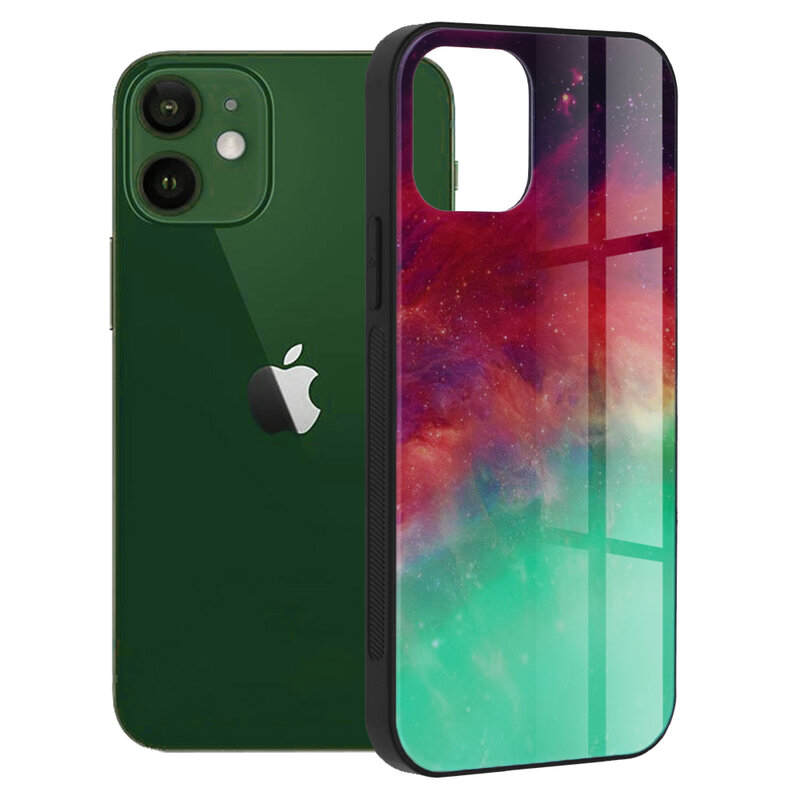 Husa iPhone 12 Techsuit Glaze, Fiery Ocean
