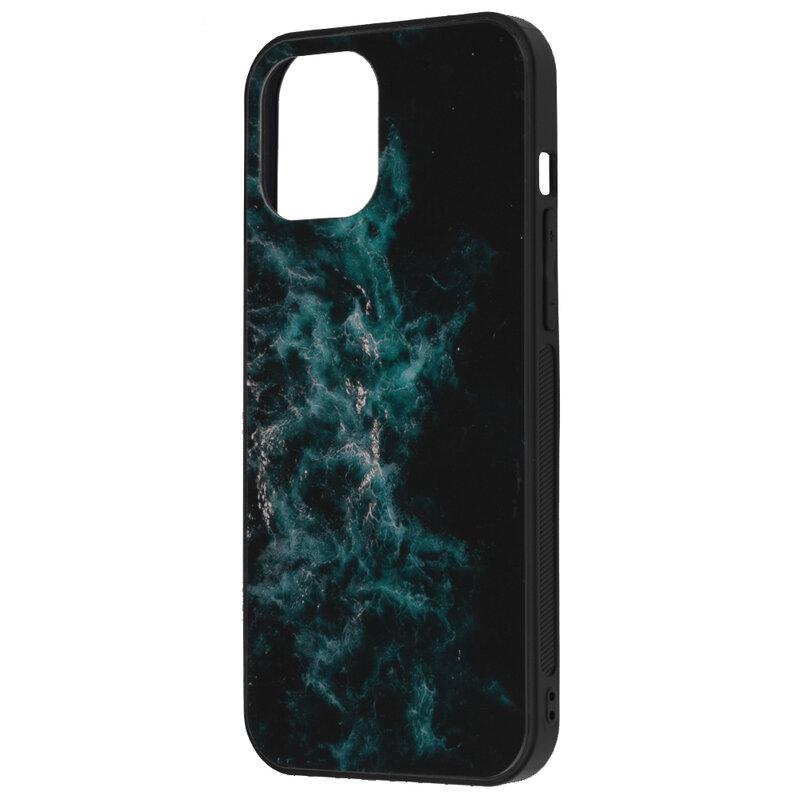Husa iPhone 12 Pro Max Techsuit Glaze, Blue Nebula