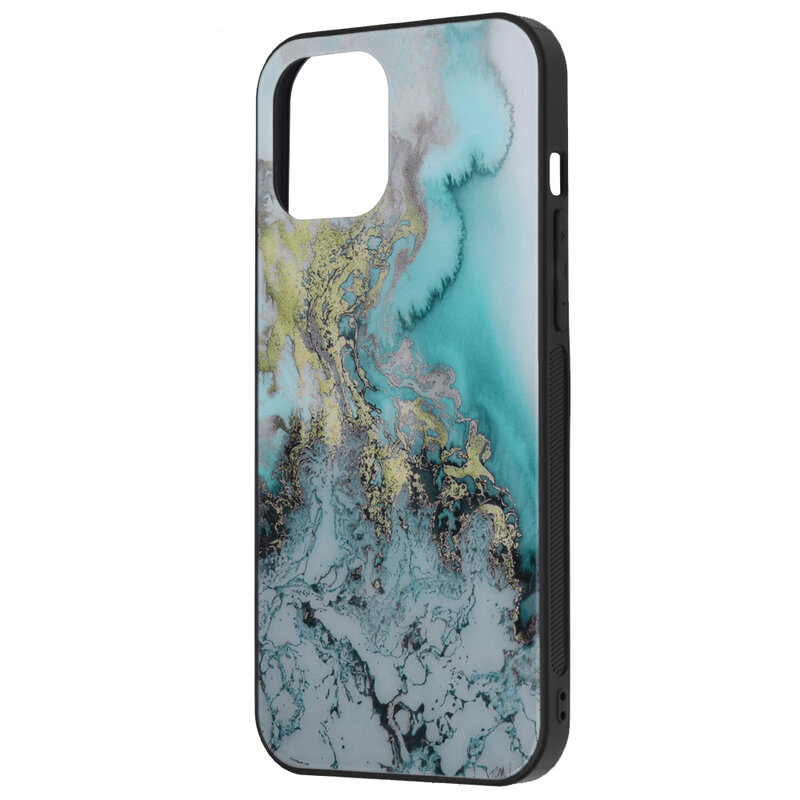 Husa iPhone 12 Pro Max Techsuit Glaze, Blue Ocean