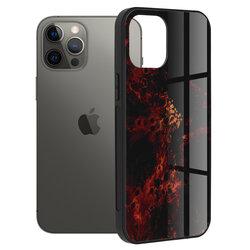 Husa iPhone 12 Pro Max Techsuit Glaze, Red Nebula
