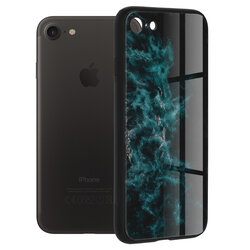 Husa iPhone 7 Techsuit Glaze, Blue Nebula