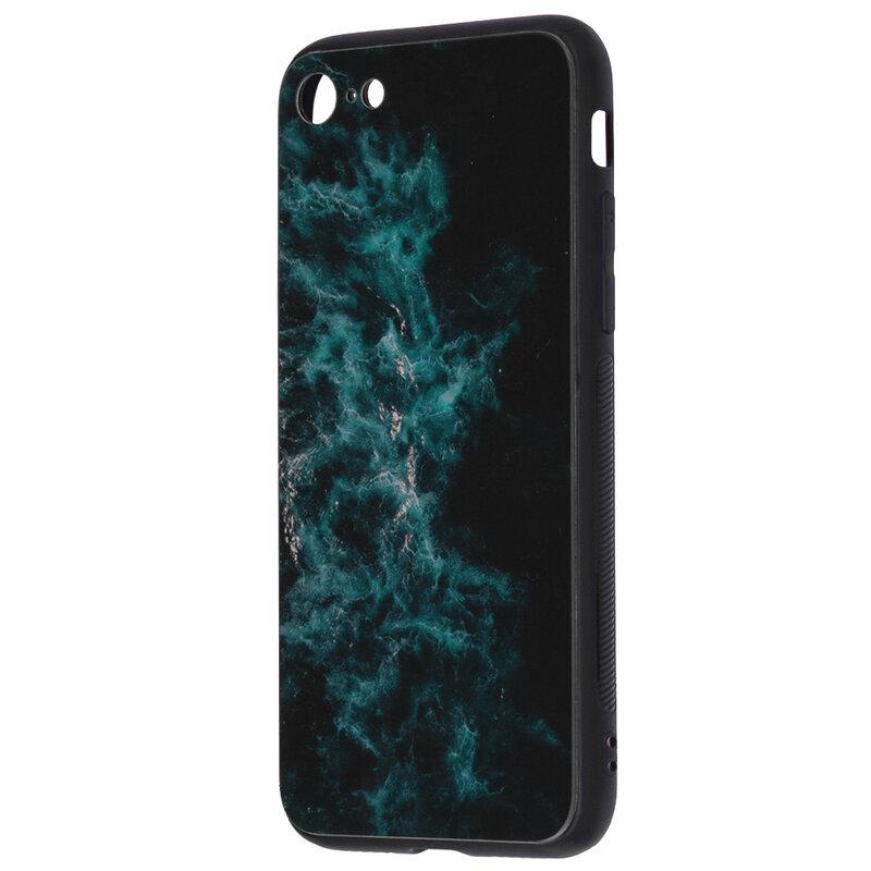 Husa iPhone 8 Techsuit Glaze, Blue Nebula
