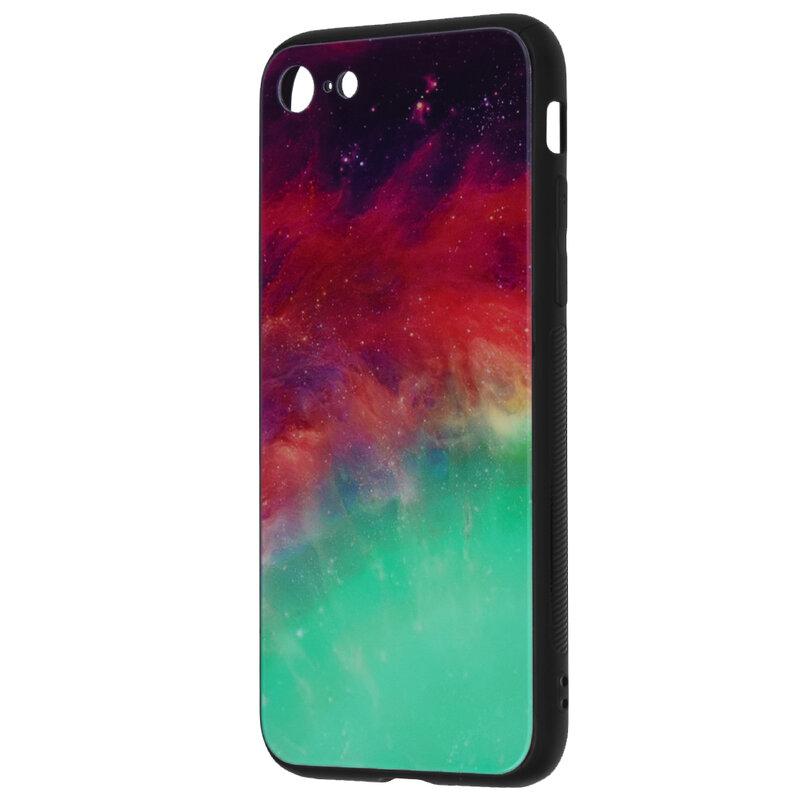 Husa iPhone 8 Techsuit Glaze, Fiery Ocean