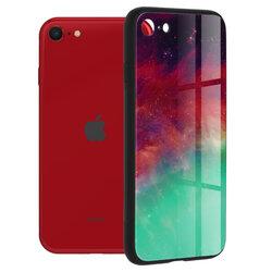 Husa iPhone SE 2, SE 2020 Techsuit Glaze, Fiery Ocean
