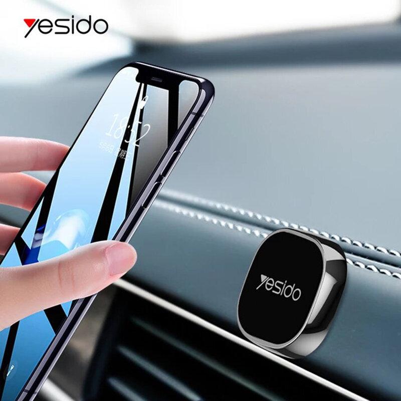 Suport telefon auto magnetic Yesido C81 cu adeziv, negru