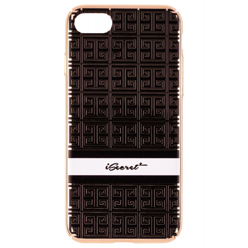 Husa iPhone 7 iSecret UltraSlim - Black Pattern