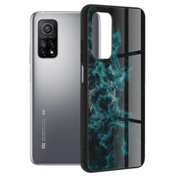 Husa Xiaomi Mi 10T 5G Techsuit Glaze, Blue Nebula
