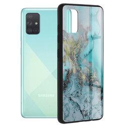 Husa Samsung Galaxy A71 Techsuit Glaze, Blue Ocean