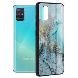 Husa Samsung Galaxy A51 Techsuit Glaze, Blue Ocean