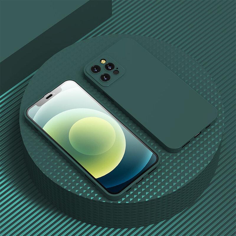 [Pachet 360°] Husa + folie iPhone 12 Pro Max Lito Full Body, verde