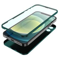 [Pachet 360°] Husa + folie iPhone 12 Pro Lito Full Body, verde