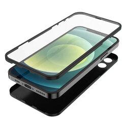 [Pachet 360°] Husa + folie iPhone 12 Pro Max Lito Full Body, negru