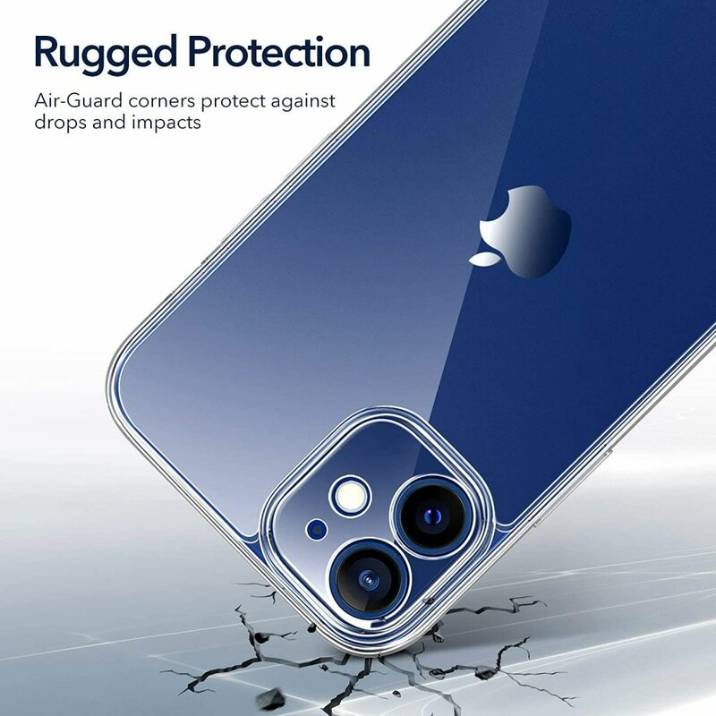 Husa iPhone 12 ESR Classic Hybrid, protectie camera ,clear