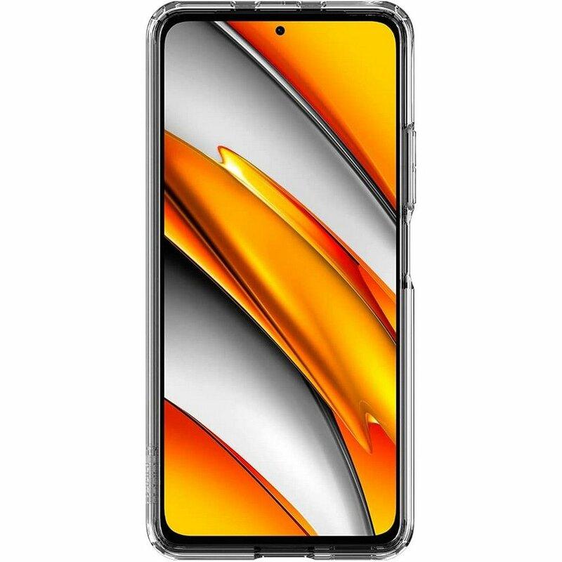 Husa Xiaomi Poco F3 Spigen Ultra Hybrid - Crystal Clear