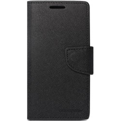 Husa Alcatel Pop C7 Flip Tip Carte Negru MyFancy