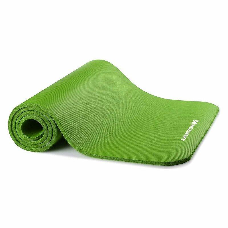 Saltea gimnastica, impermeabila, fitness, yoga, aerobic, pilates, verde