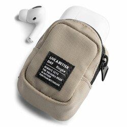 Gentuta earbuds universala Ringke Mini Pouch Block, bej