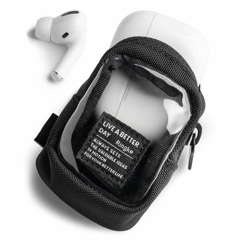 Gentuta earbuds universala Ringke Mini Pouch Block, transparent