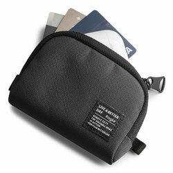 Gentuta earbuds universala Ringke Mini Pouch Half Pocket, negru
