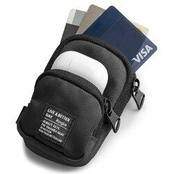 Gentuta earbuds universala Ringke Mini Pouch Two Pocket, negru