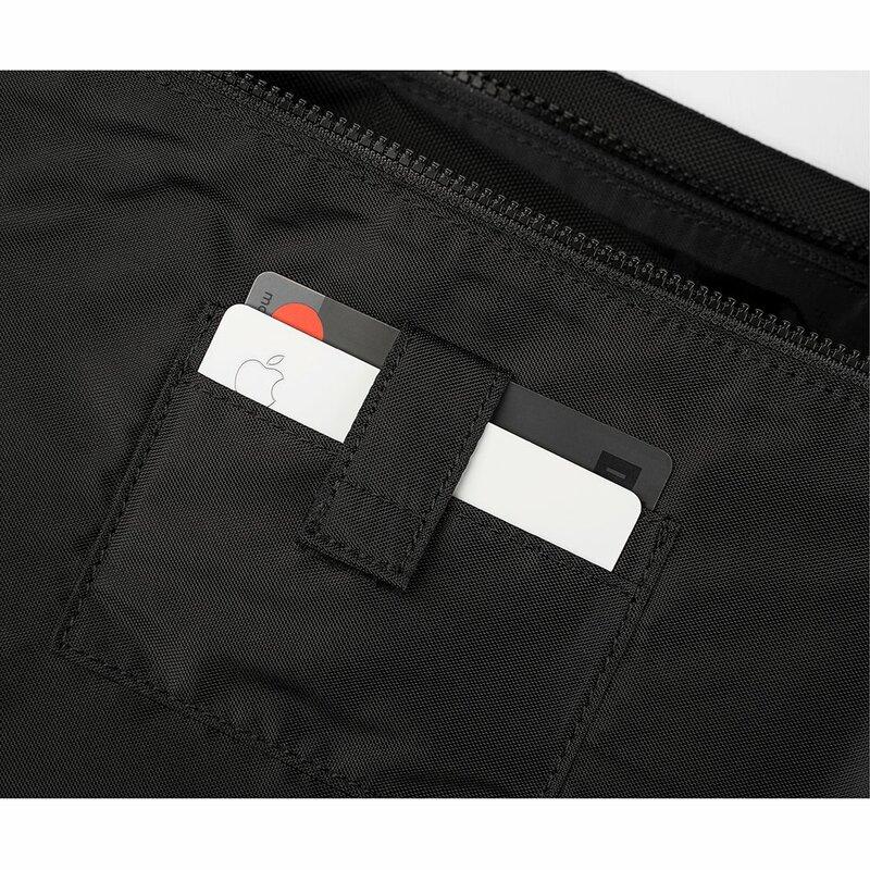 Geanta laptop 13 inch Ringke 2-Way Bag cu doua buzunare, negru