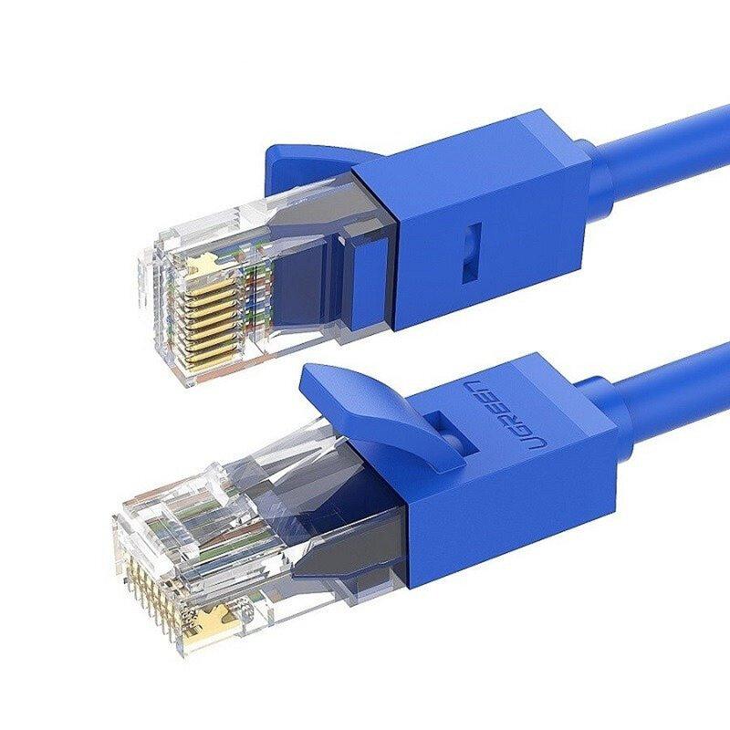 Cablu internet Cat 6 Ugreen, UTP, LAN, 1Gbps, 1m, albastru, 11201