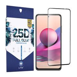 Folie sticla Xiaomi Redmi Note 10S Lito 2.5D Full Glue, negru