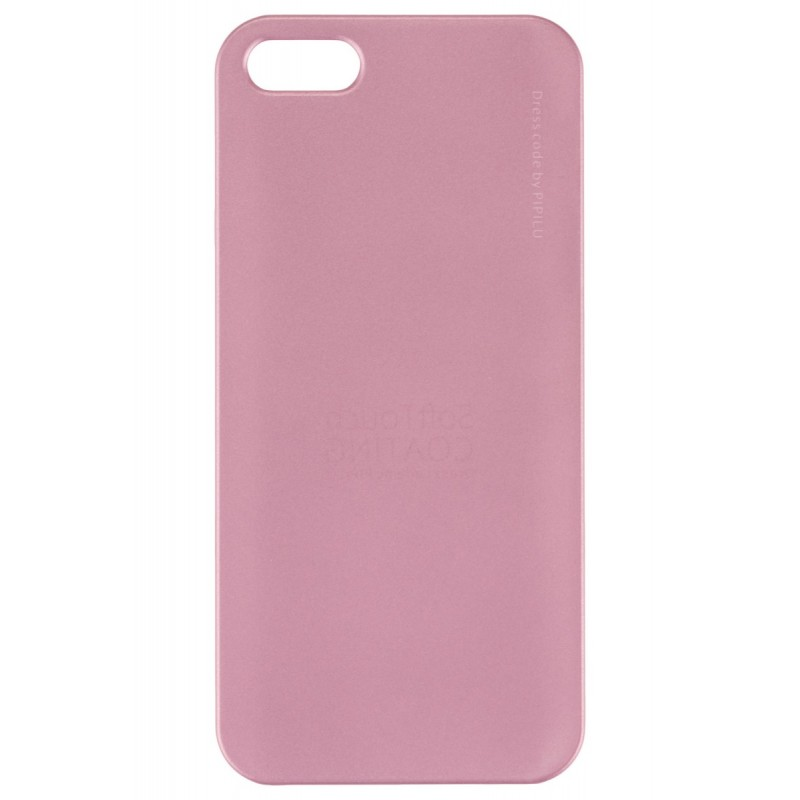 Husa Iphone SE, 5, 5s Pipilu Metalic Pink