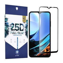 Folie sticla Xiaomi Redmi 9T Lito 2.5D Full Glue, negru