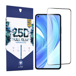 Folie sticla Xiaomi Mi 11 Lite Lito 2.5D Full Glue, negru