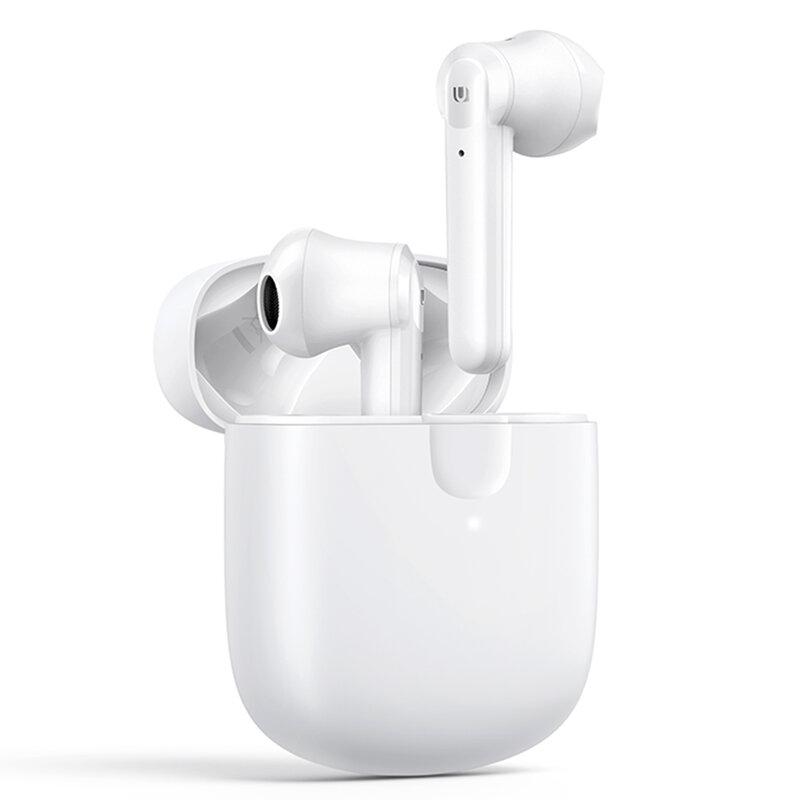 Casti wireless in-ear Ugreen, Bluetooth earbuds, alb, 80652