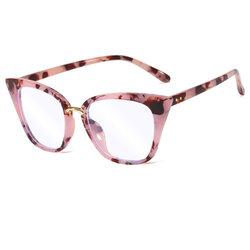 Ochelari cat eye dama cu protectie calculator impotriva luminii albastre, roz, F97394-C3