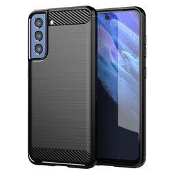 Husa Samsung Galaxy S21 FE 5G TPU Carbon - Negru