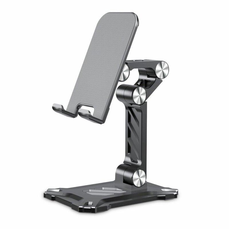Suport telefon, tableta birou reglabil Tech-Protect Z4, gri