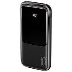 Baterie externa 10000mAh USAMS PB58, 2xUSB, USB-C, Micro-USB, negru, US-CD161