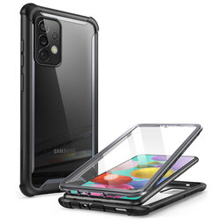 [Pachet 360°] Husa Samsung Galaxy A72 5G i-Blason Ares + Folie Ecran - Black