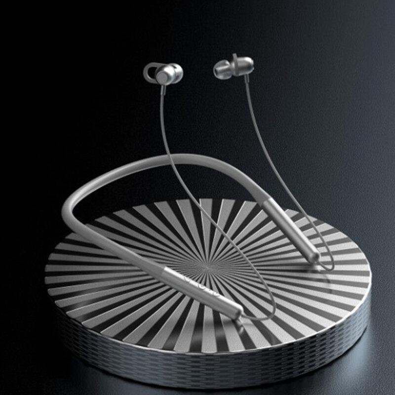 Casti in-ear sport wireless Dudao U5A, Bluetooth, argintiu