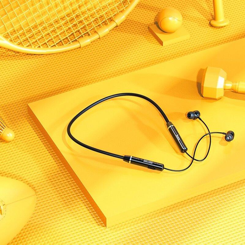 Casti in-ear sport wireless Hoco ES53, Bluetooth, negru