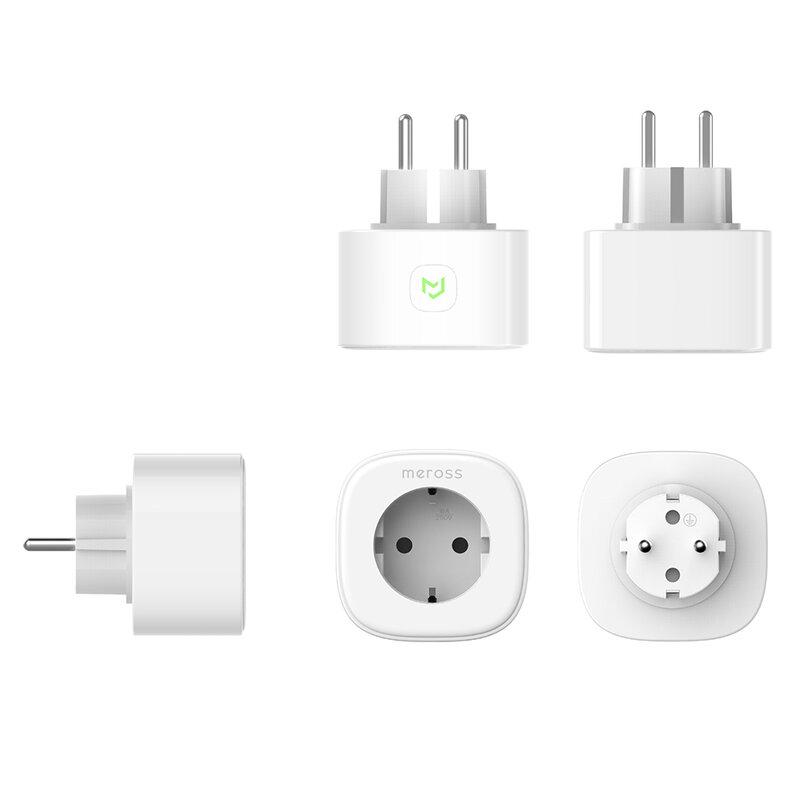 Priza wireless Meross MSS310 cu monitorizare consum, 16A, alb