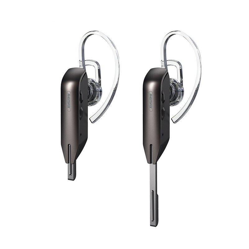 Casca handsfree Bluetooth in-ear Remax cu microfon, gri, RB-T38