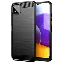 Husa Samsung Galaxy A22 5G TPU Carbon - Negru