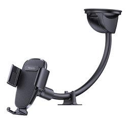 Suport telefon auto parbriz Yesido C119 cu brat flexibil, negru