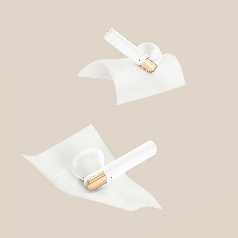 Casti Bluetooth in-ear Baseus, TWS earbuds, alb, NGW2-02