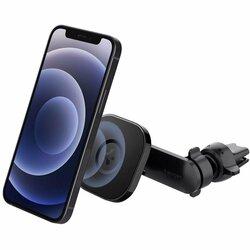 Suport auto magnetic MagSafe Spigen ITS12 iPhone 12, negru