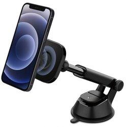 Suport auto magnetic MagSafe Spigen ITS35 iPhone 12, negru
